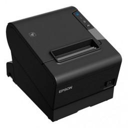 Epson TM-T88VI-iHub, USB, RS232, Ethernet, ePOS, zwart