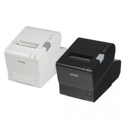 Epson TM-T88V-DT, USB, RS232, Ethernet, zwart