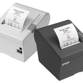 Epson   TM-T88V, USB, Ethernet, licht grijs