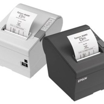 Epson   TM-T88V, USB, powered-USB, donkergrijs