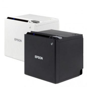 Epson   TM-m30, USB, Ethernet, WLAN, 8 dots/mm (203 dpi), ePOS, zwart