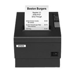Epson TM-T88IV ReStick, USB, 8 dots/mm (203 dpi), cutter, zwart