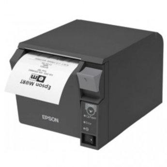 Epson   TM-T70II, USB, RS232, donkergrijs