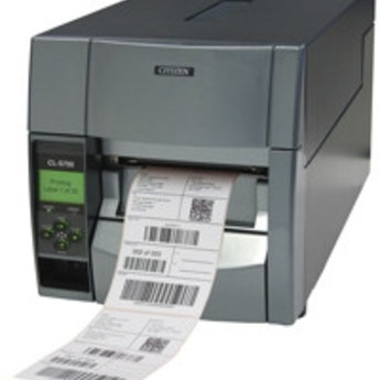 Citizen   CL-S703, 12 dots/mm (300 dpi), heavy duty cutter, MS, ZPLII, Datamax, multi-IF (Ethernet, Premium)