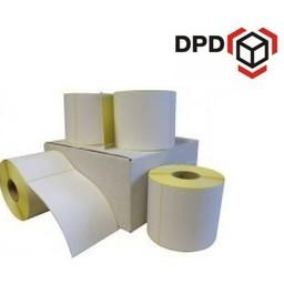 12 rollen DPD verzendetiket 102x150 mm. (kern 76 mm) 1000 per rol