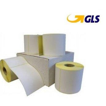 GLS verzendetiket 102x150 mm. Kern 25 mm. 300 labels per rol
