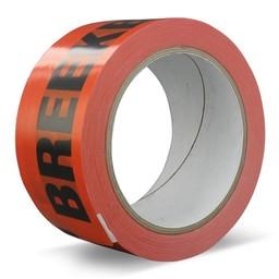 36 rollen - Oranje verpakkingstape (PVC) - Breekbaar/Fragile