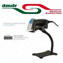 iDPos Barcodescanner voor DMDR Medical Marketing