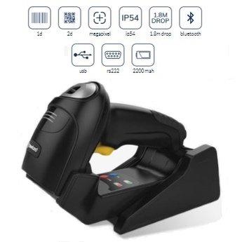 Autonet 2D Bluetooth barcodescanner met stand