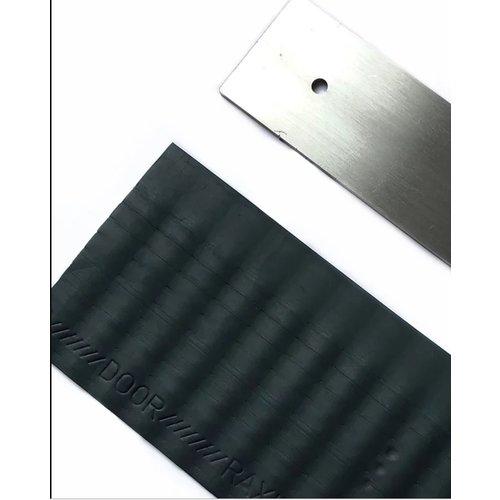 Raxit Raxit deur wering rubber met staal strip