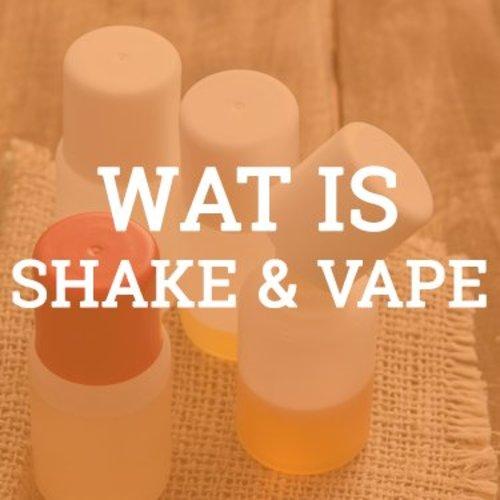 Uitleg Shake & Vape