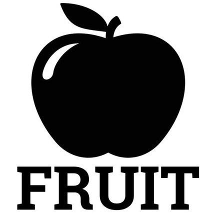 Fruit smaken.