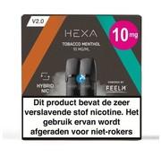 HEXA Pod Tobacco Menthol | 2.0