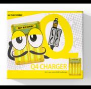 Nitecore Q4 Batterij Oplader