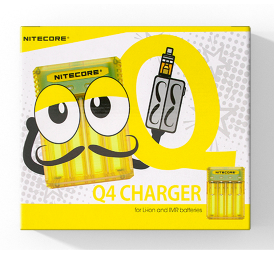 Q4 Batterij Oplader