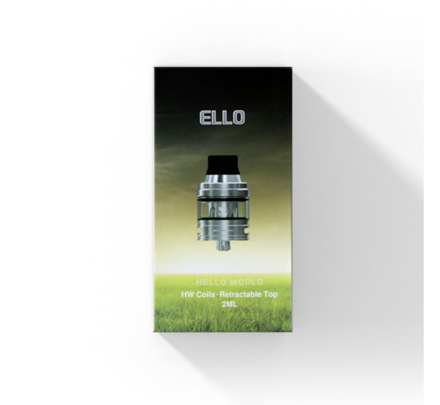Ello Clearomizer- 2 ML