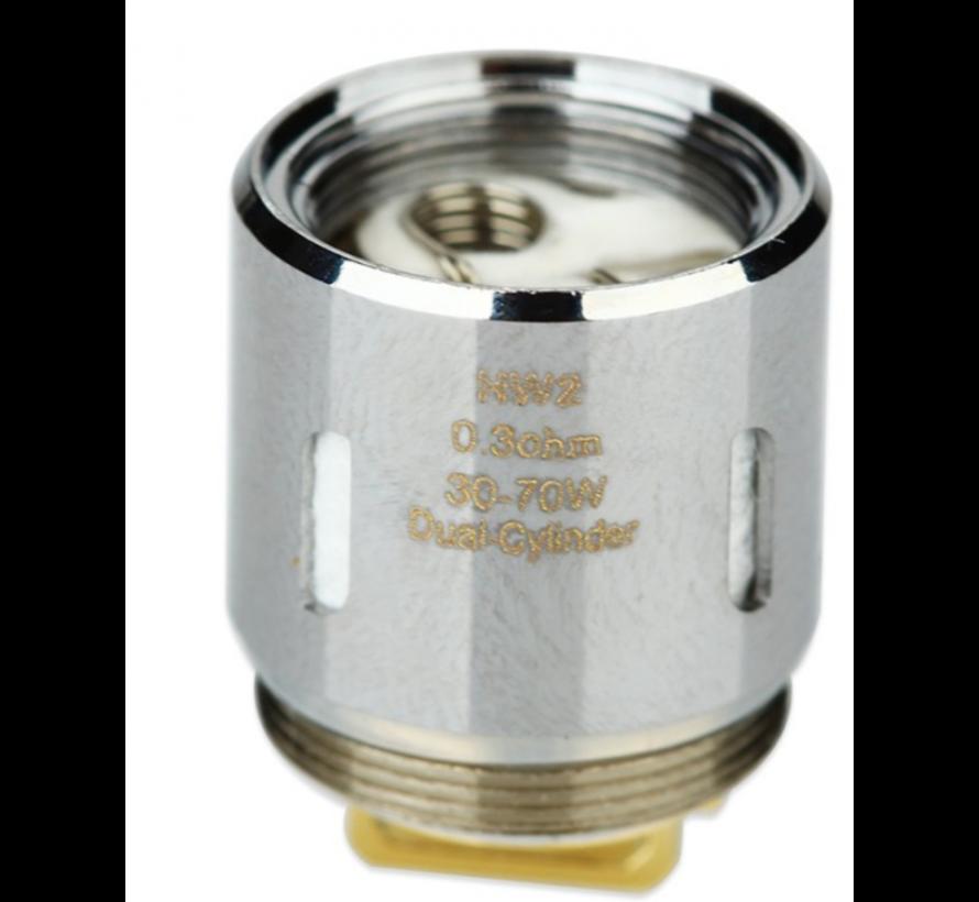 HW2 Dual Coils (5 St) 0.3 Ohm