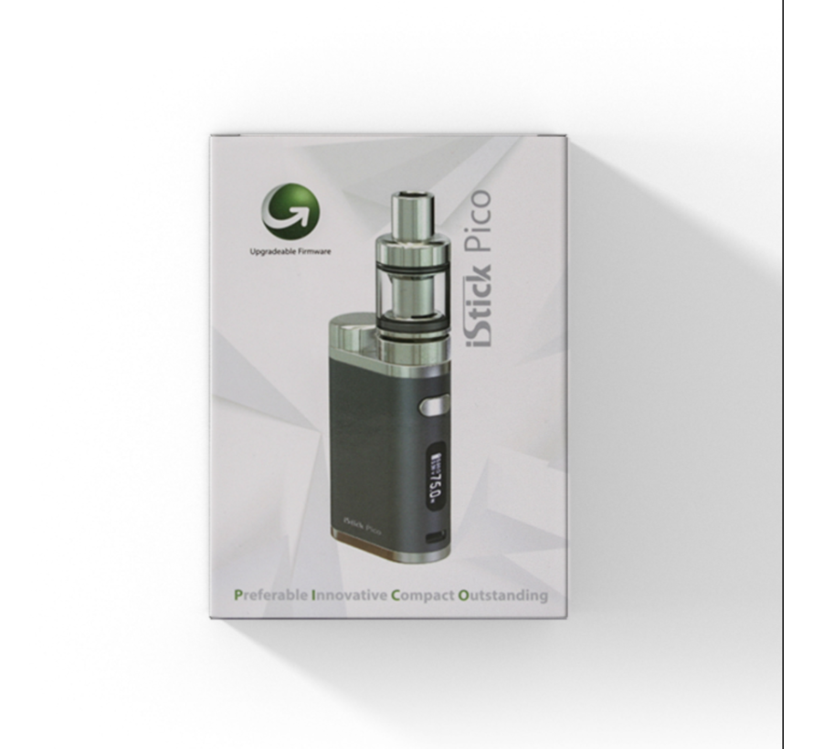 iStick Pico 75w + Melo 3 Clearomizer Starterset