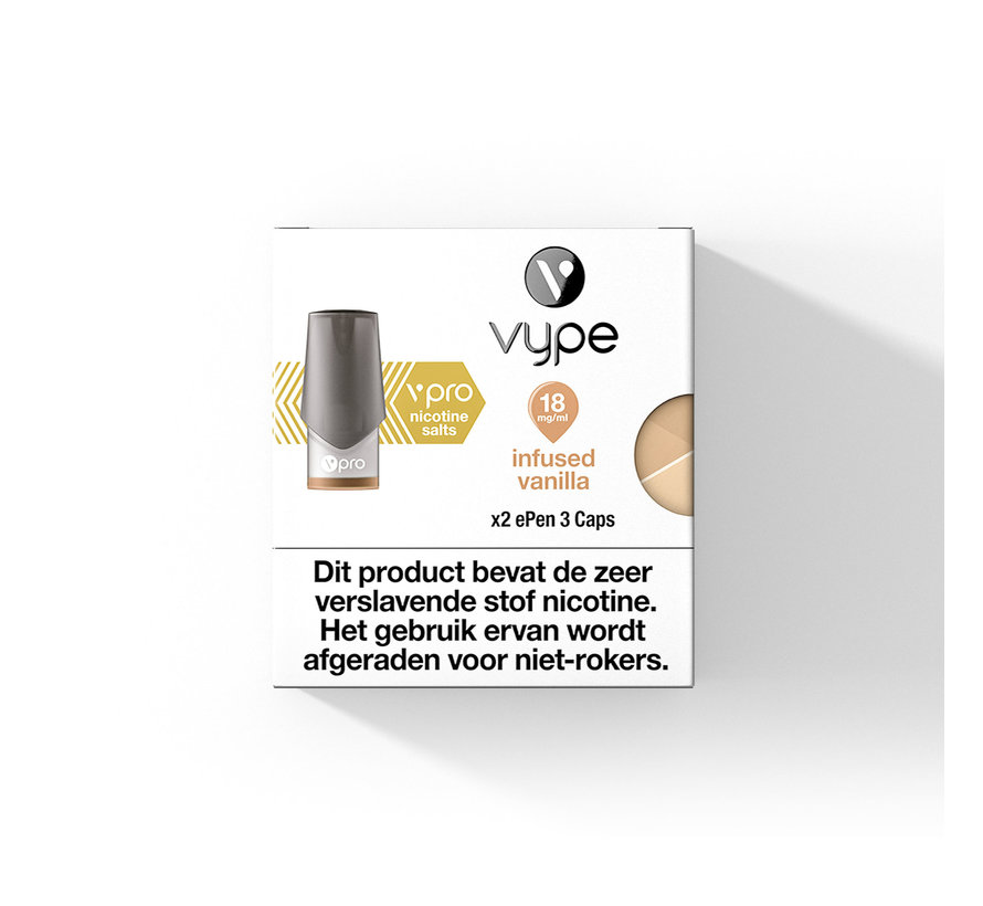 Infused Vanilla  ePen 3 POD (2 pack)