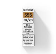 Element Nic Salts 555 Tobacco