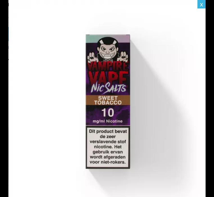 Sweet Tobacco Nic Salt
