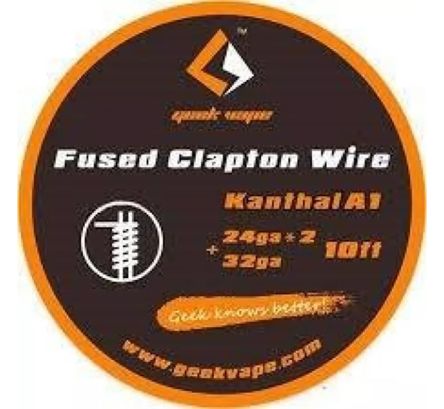 Kanthal A1 fused Clapton Wire