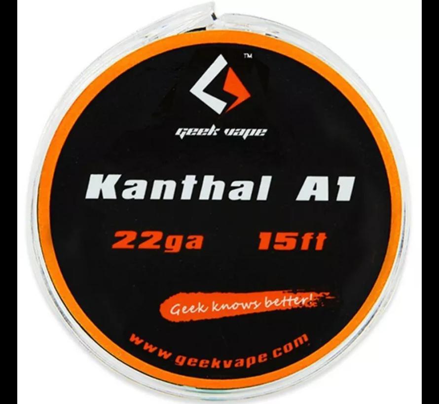 Atomizer DIY Kanthal A1 Tape wire 22GA