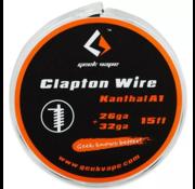 GeekVape  Clapton Atomizer DIY Kanthal KA1 Tape Wire