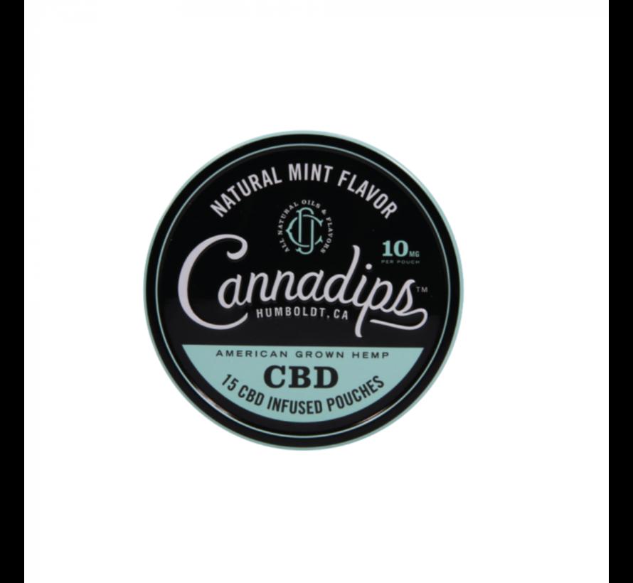 Natural Mint Flavor - (15 St.) 10MG (16% CBD) - Copy