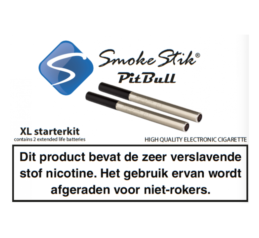 SMOKESTIK - PREMIUM XL STARTSET DUBBEL