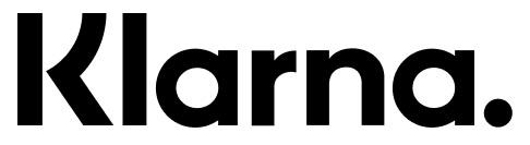 Logo van Klarna