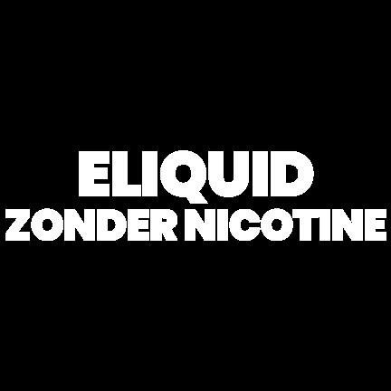 E-liquid zonder nicotine kopen