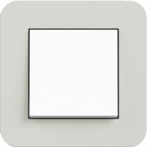 E3 lichtgrijs/wit