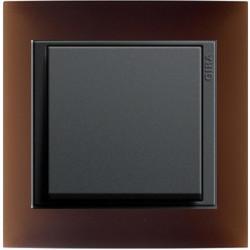 Event Opaque donkerbruin mat/antraciet mat