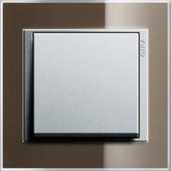 Event Opaque donkerbruin mat/aluminium mat