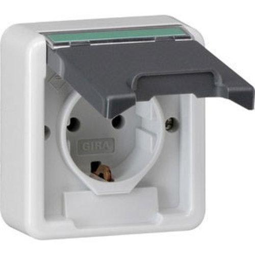 wandcontactdoos IP44 (los)