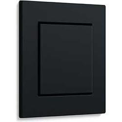 E2 vlak zwart mat