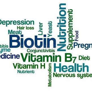 Vitamine H Biotine vitamine B8