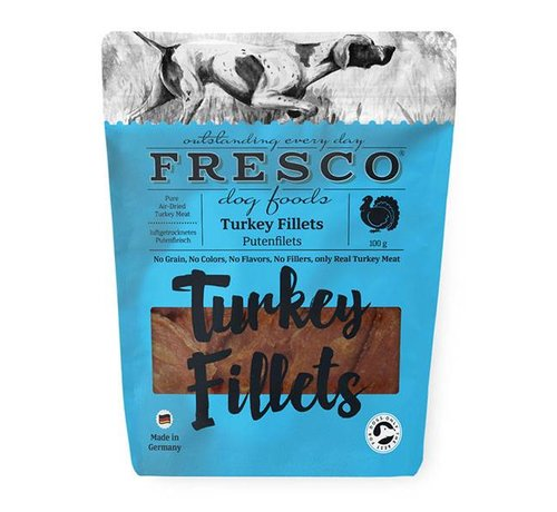 Fresco Fresco Fillets kalkoen 100gr