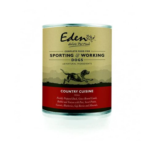 Eden Eden Dog Wet Food Country Cuisine 400gr
