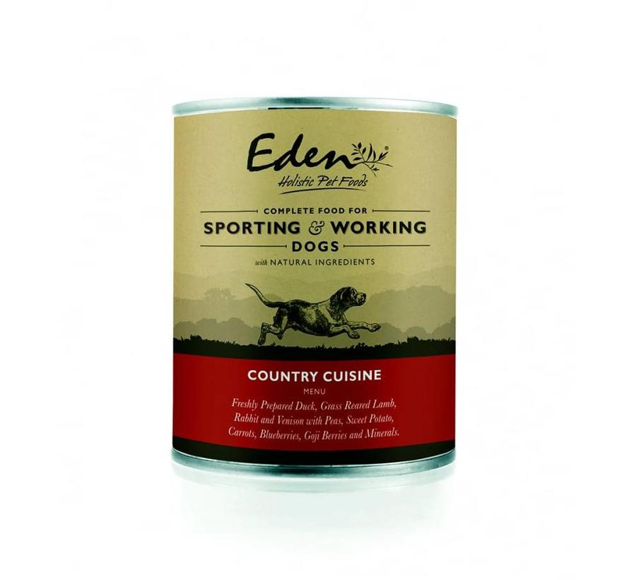 Eden Dog Wet Food Country Cuisine 400gr