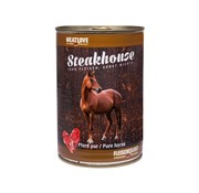 Steakhouse Steakhouse Blik Puur Paard 410gr