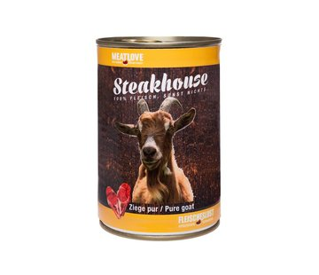 Steakhouse Steakhouse Blik Puur Geit 410gr