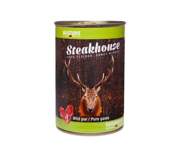 Steakhouse Steakhouse Blik Puur Hert 410gr