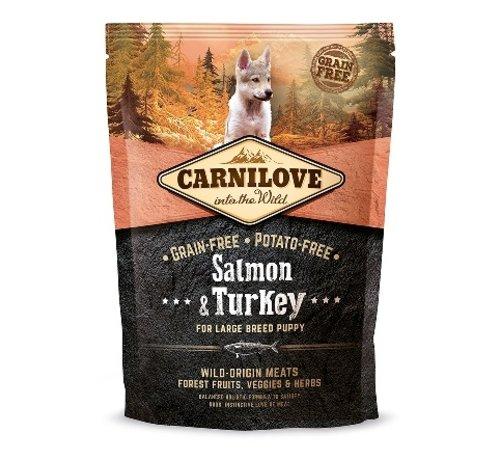 Carnilove Carnilove Salmon & Turkey Puppy Large Breed 1,5 kg