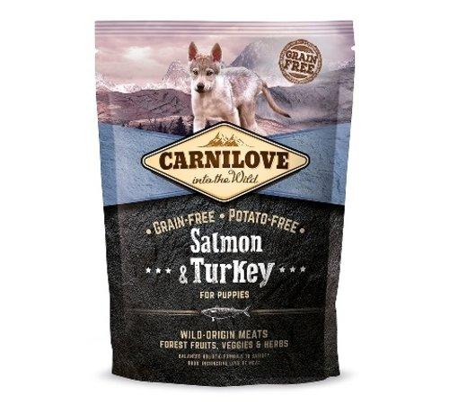 Carnilove Carnilove Salmon & Turkey puppy 1,5kg