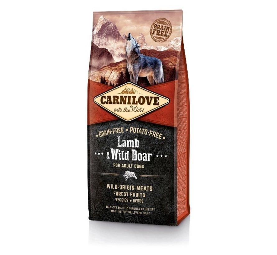 Carnilove Lamb & Wild Boar adult 12 kg
