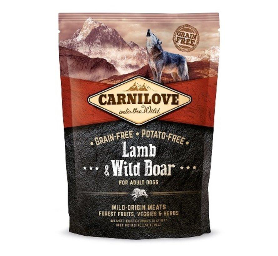 Carnilove Lamb & Wild Boar adult 1,5 kg