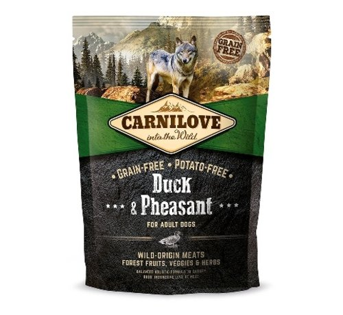 Carnilove Carnilove Duck & Pheasant adult 1,5 kg