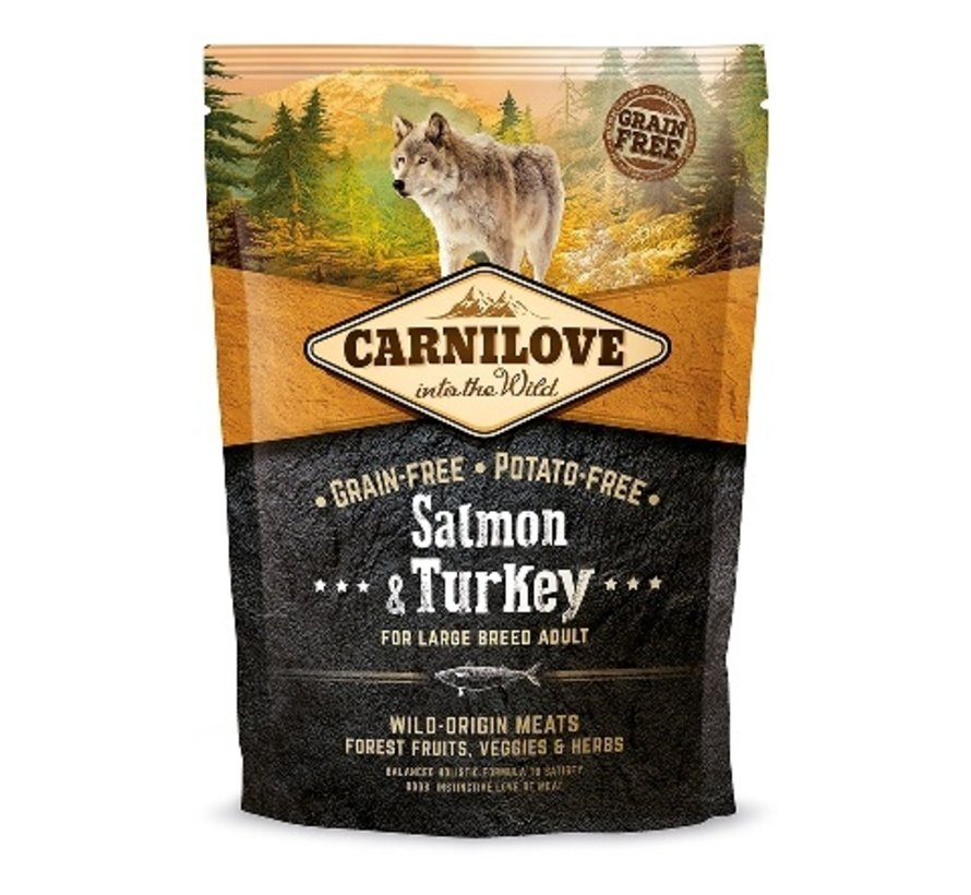 Carnilove Salmon & Turkey Large Breed 1,5 kg